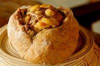 Parmesan Cheese And Salami Rye Bread