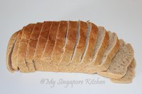Wholemeal Bread (eggless)