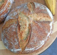 Plantain Sourdough
