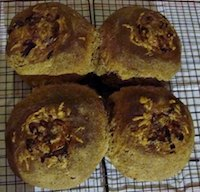 Chia Breads With Flavorful Topping