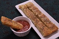 Cheesy Garlic Breadsticks