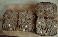 Chardonnay Rye Sourdough With Apricots And Almonds