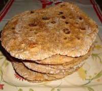 Paneer And Smoked Paprika 7 Grain Flatbreads