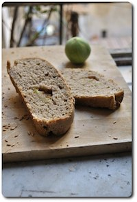 Bread With Fresh Figs And Cardamom