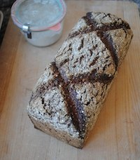 Sprouted Vollkornbrot With Seeds