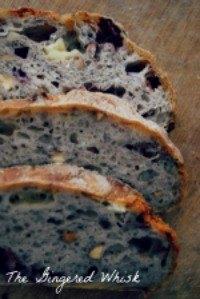 Sourdough, Almond, And Camembert Sourdough