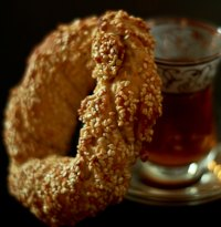 Simit, Turkish Sesame Ring