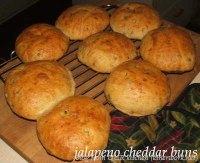 Jalapeno Cheddar Buns