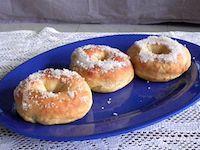 Baked Banana Doughnuts