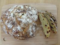 Mango Cranberry Sourdough Bread