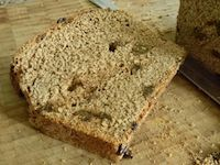 Spicy Raisin Bread