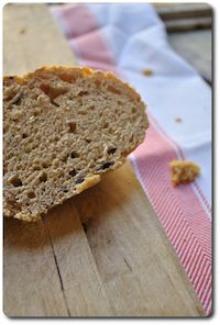 Bread With Paprika, Leek And Sweet Pepper