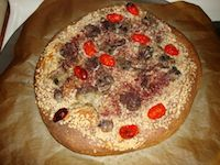 Whole Wheat Sourdough Pizza