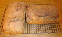 Rye With Millet And Black Caraway Seeds