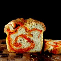 Sriracha Cheddar - Pepper Jack Bread