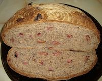 Poppy Seeds And Plums Spelt Sourdough