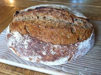 Roasted Flour Bread