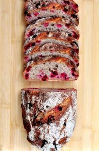 Lingonberry Rye Sourdough