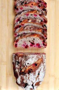 Lingonberry Rye Sourdough