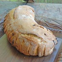 Durum Semolina Roated Onion Sourdough