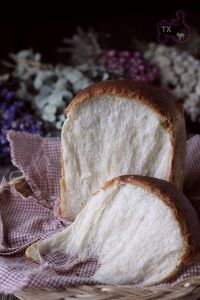 Cream Cheese Soft Sandwich Loaf + Pineapple Buns