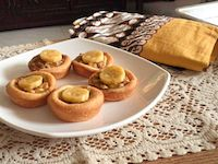 Banana Yeast Tartlet