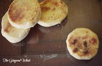 Sourdough English Muffins