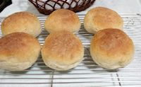 Eggless Wholemeal Dinner Rolls