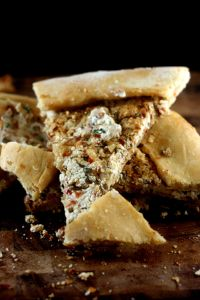 Spicy Chevre Filled Turkish Pide