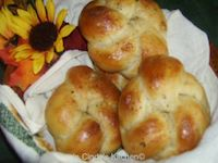 Garlic-Ranch Buttermilk Kaiser Rolls