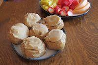Peanut Butter Fudge Rolls