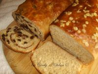 Multigrain Breads: Raisin-Swirled & Honey Wheat
