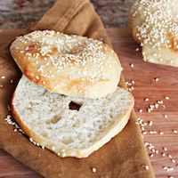 Sesame Seed Bagels