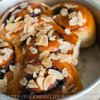 Danish Chocolate Swirl Coffee Bread