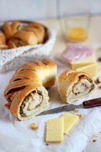 Pistachio, Ham And Cheese Bread
