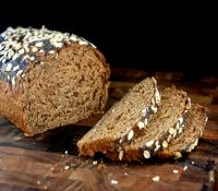 Oatmeal Walnut Poppy Seed Bread