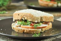 Sandwich With Smoked Chicken And Avocado