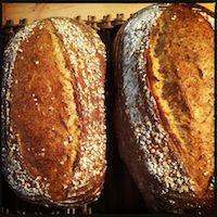 Oat Bread With Wild Yeast
