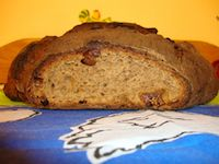 Fig Whole Wheat Sourdough