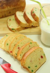 Tutti Frutti Bread (eggless)