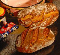 Hurricane Yeast Water Corn Rye Bread