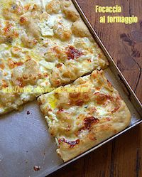 Focaccia With Cheese