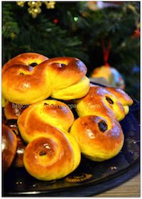 Lussekatter Buns