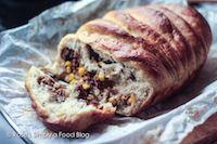 Tangzhong Whole-wheat Savory Pull-apart Bread