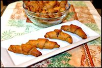 Whole Wheat Savory Crescent Rolls