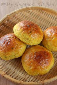 Masala/ Savory/Khara Bun (eggless)