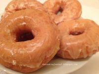 Fried Glazed Doughnut