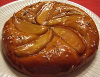 Salted Caramel And Apple Focaccia