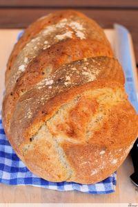 Honig-Haferflocken-Brot (Honey-oat-bread)