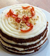 Sourdough Carrot-Ginger Cake